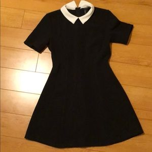 Black, Wednesday Addams dress from Forever 21